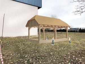 Pomagajmo postaviti učilnico na prostem